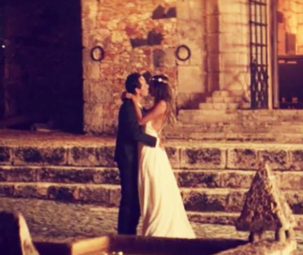 Shannon de Lima y Marc Anthony boda