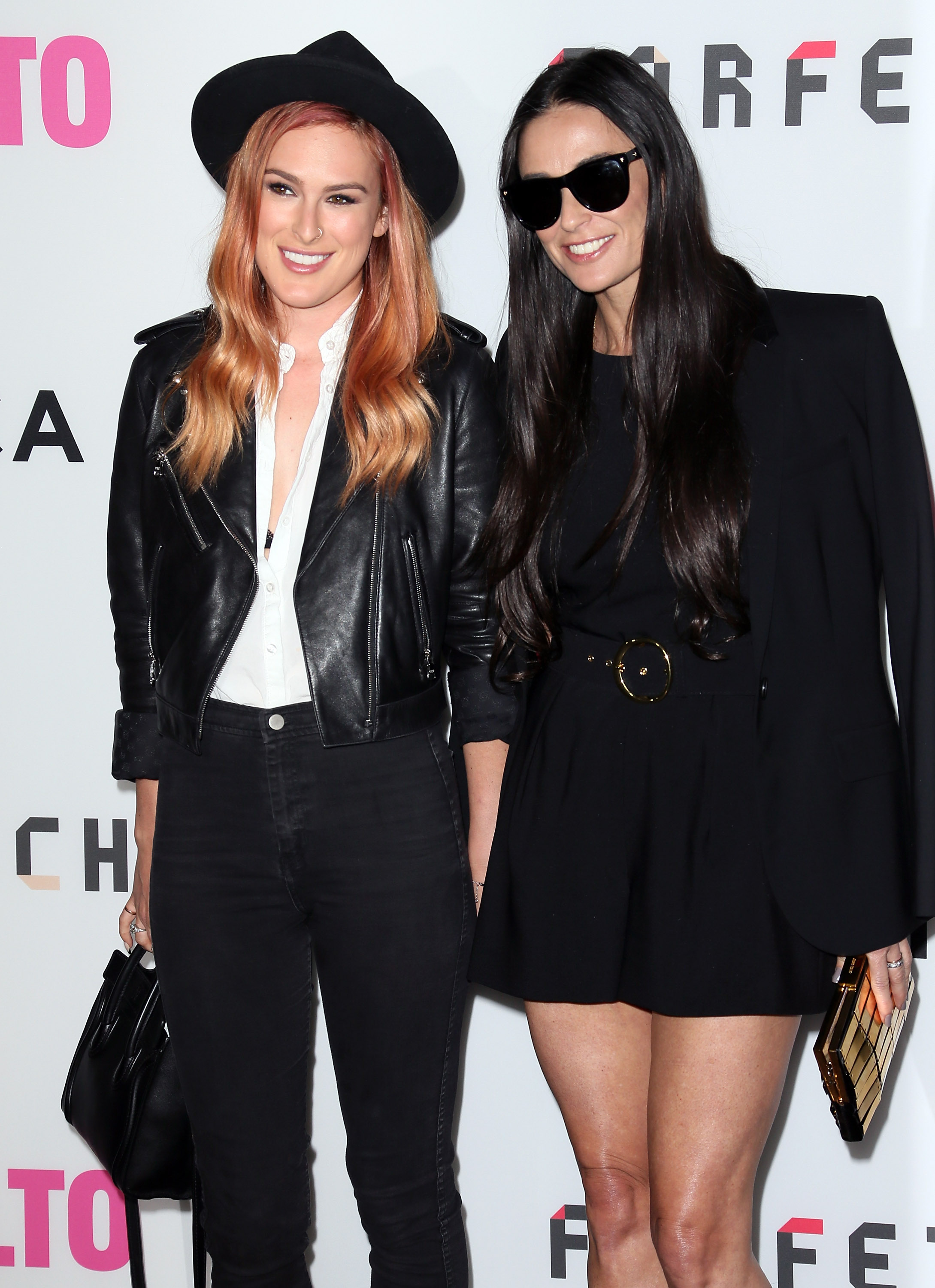 Rumer Willis y Demi Moore