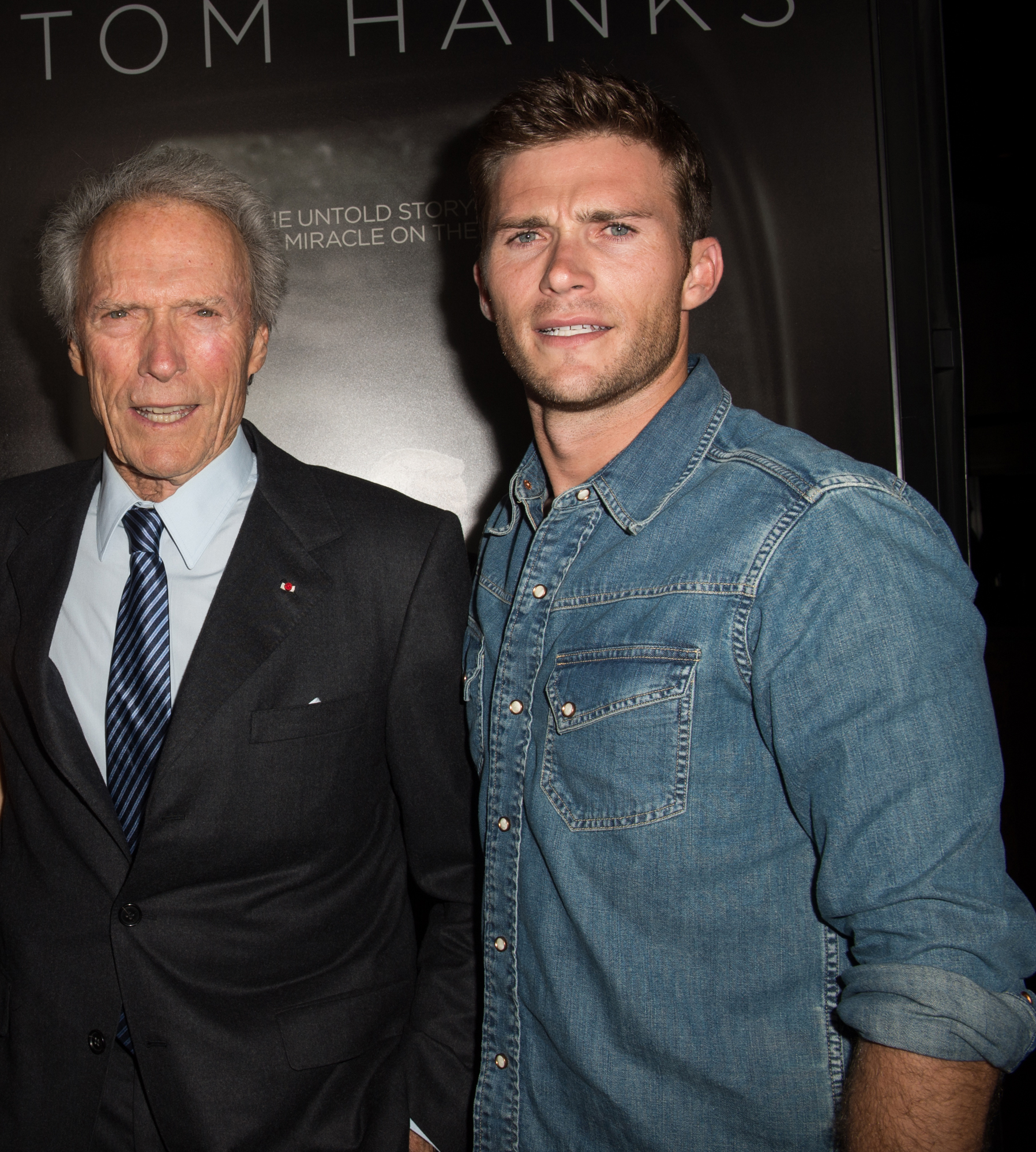 Clint Eastwood y su Scott Eastwood