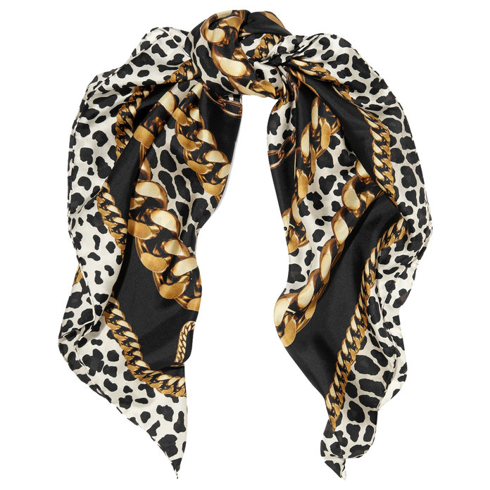 Leopard print Scarf Marc Jacobs 175