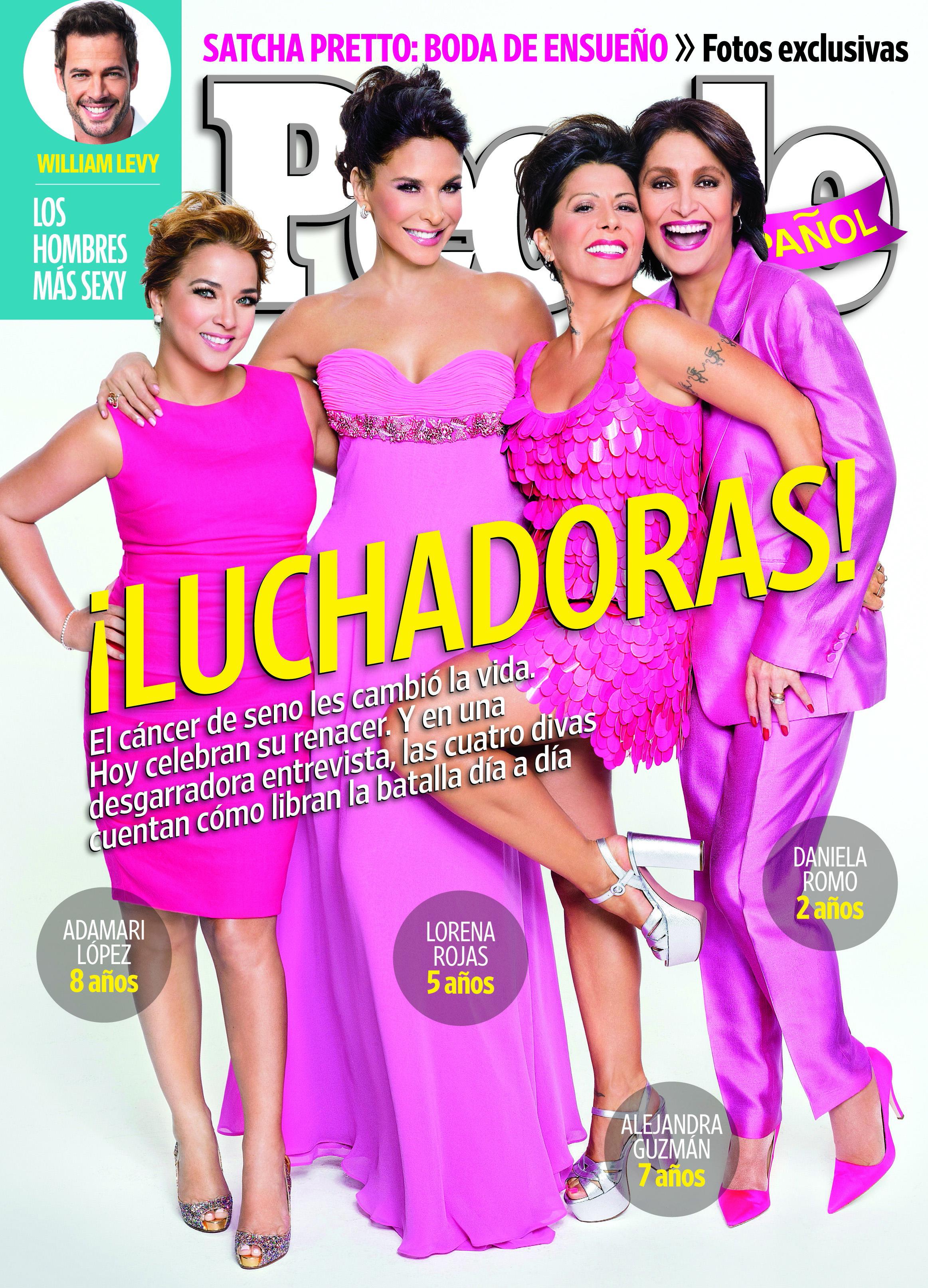 Adamari Lopez, Lorena Rojas, Alejandra Guzman, Daniela Romo - October 2013