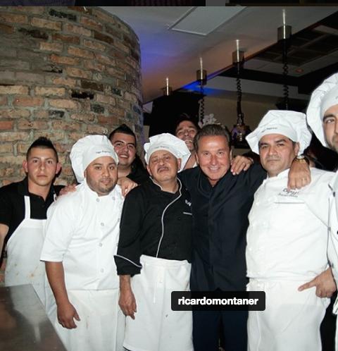 Famosos que tienen restaurantes Ricardo Montaner