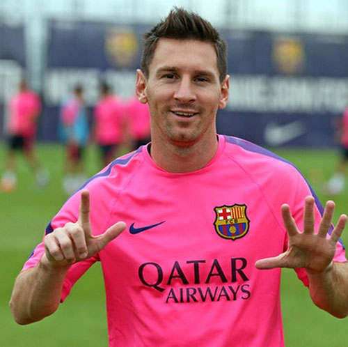 Lionel Messi, cumpleaños