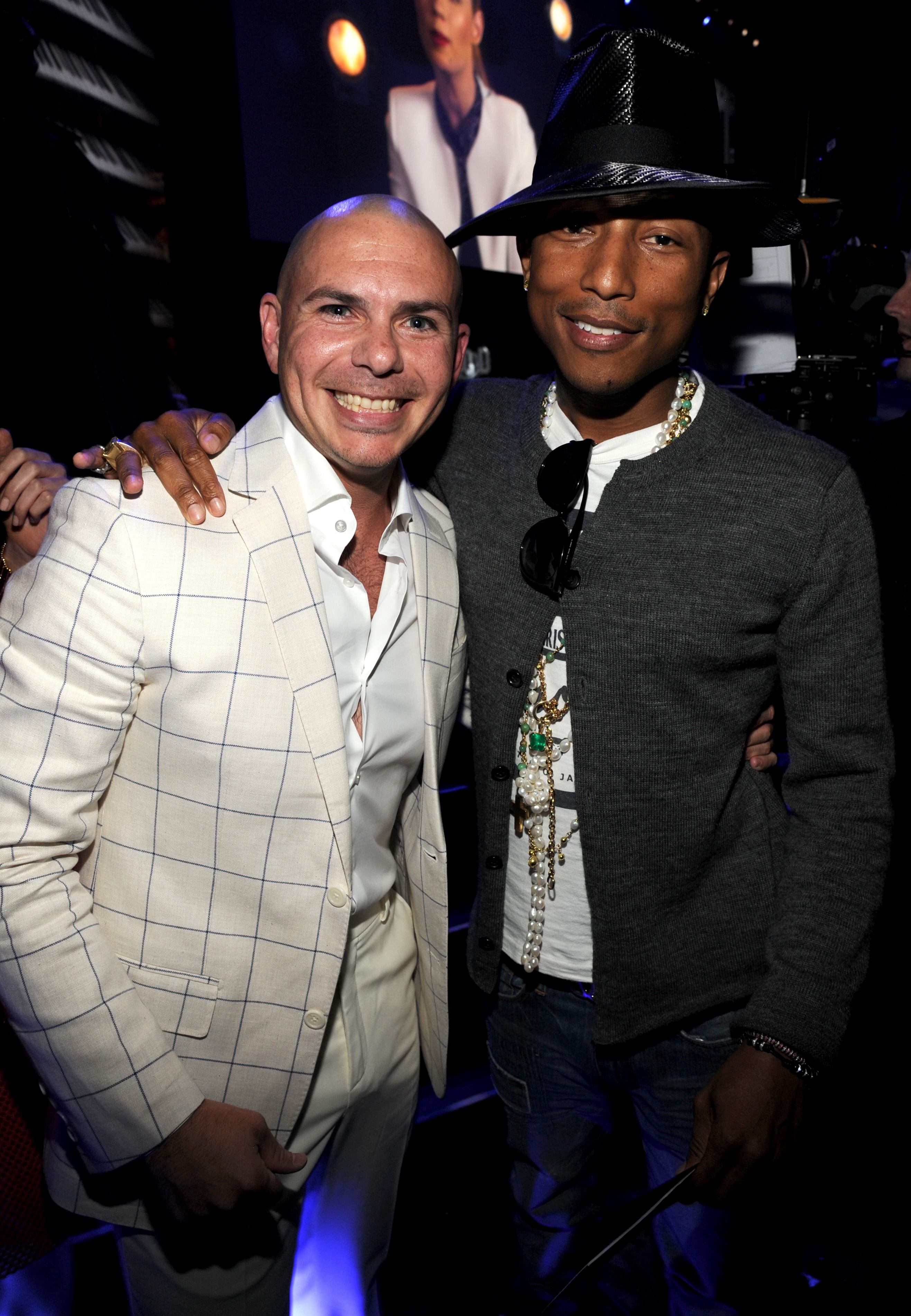Pitbull y Pharrell Williams