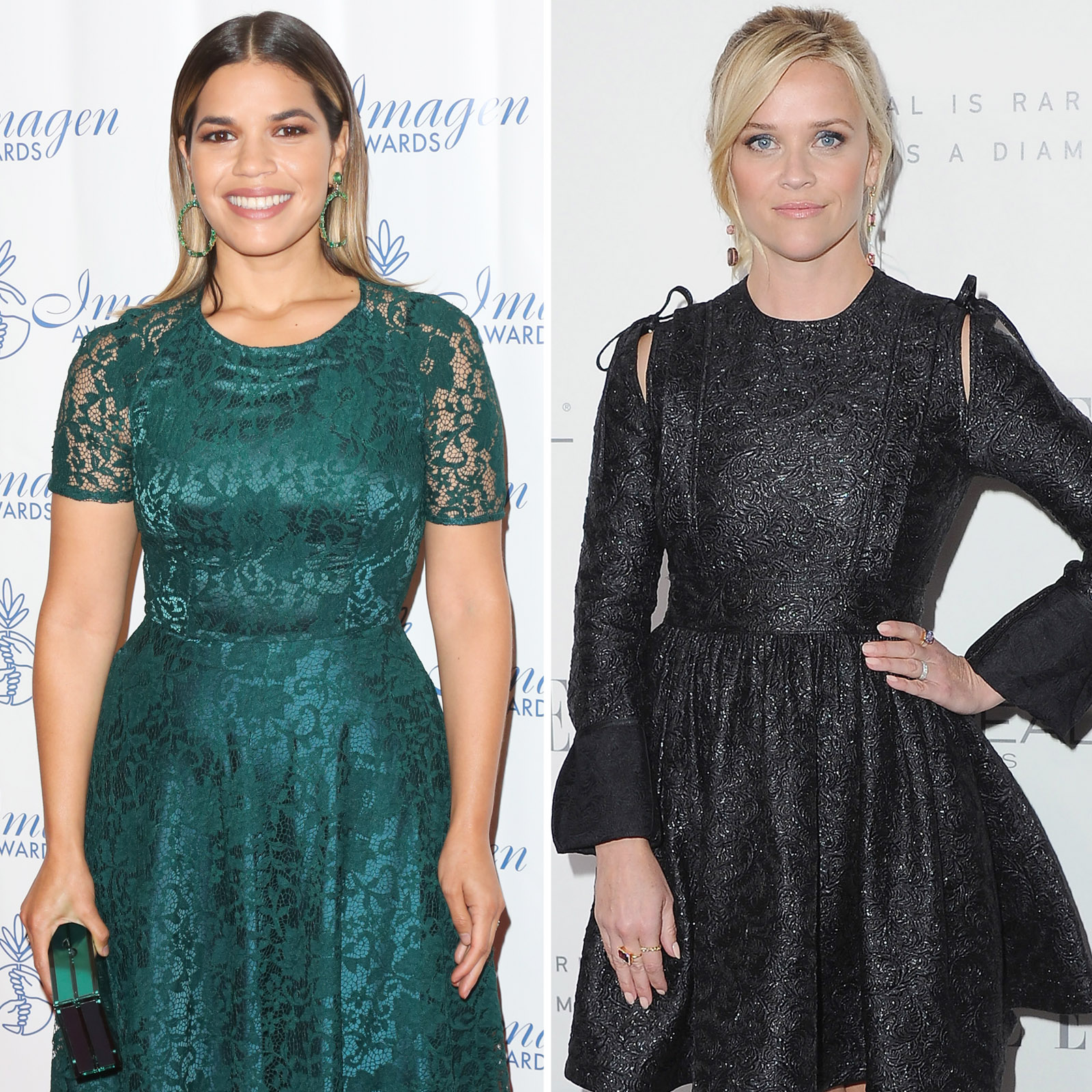 America Ferrera y Reese Witherspoon