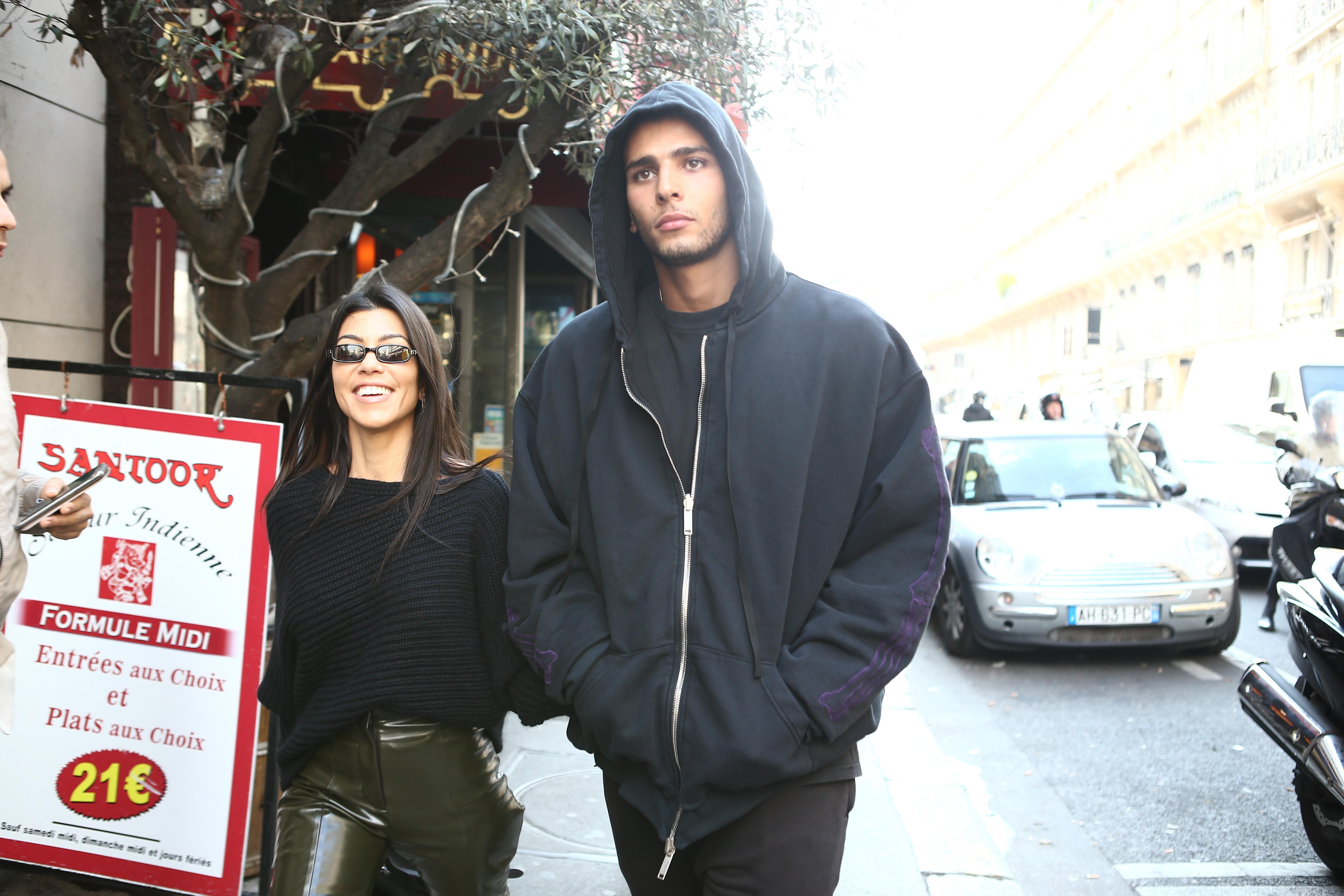 Kourtney Kardashian, Younes Bendjima