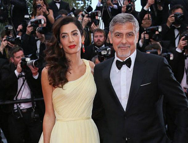 George Clooney & Amal Alamudd