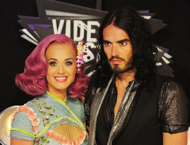Katy Perry y Rusell Brand