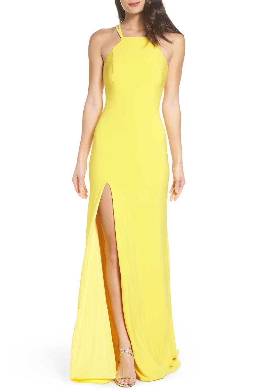 vestidos, amarillo, look