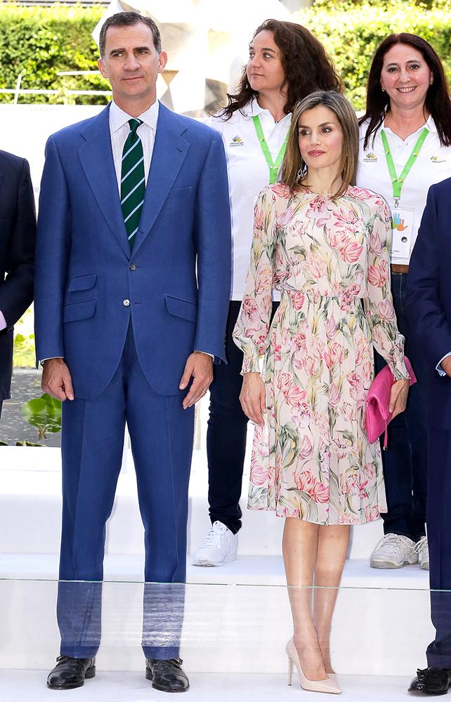 Rey Felipe y Princesa Letizia
