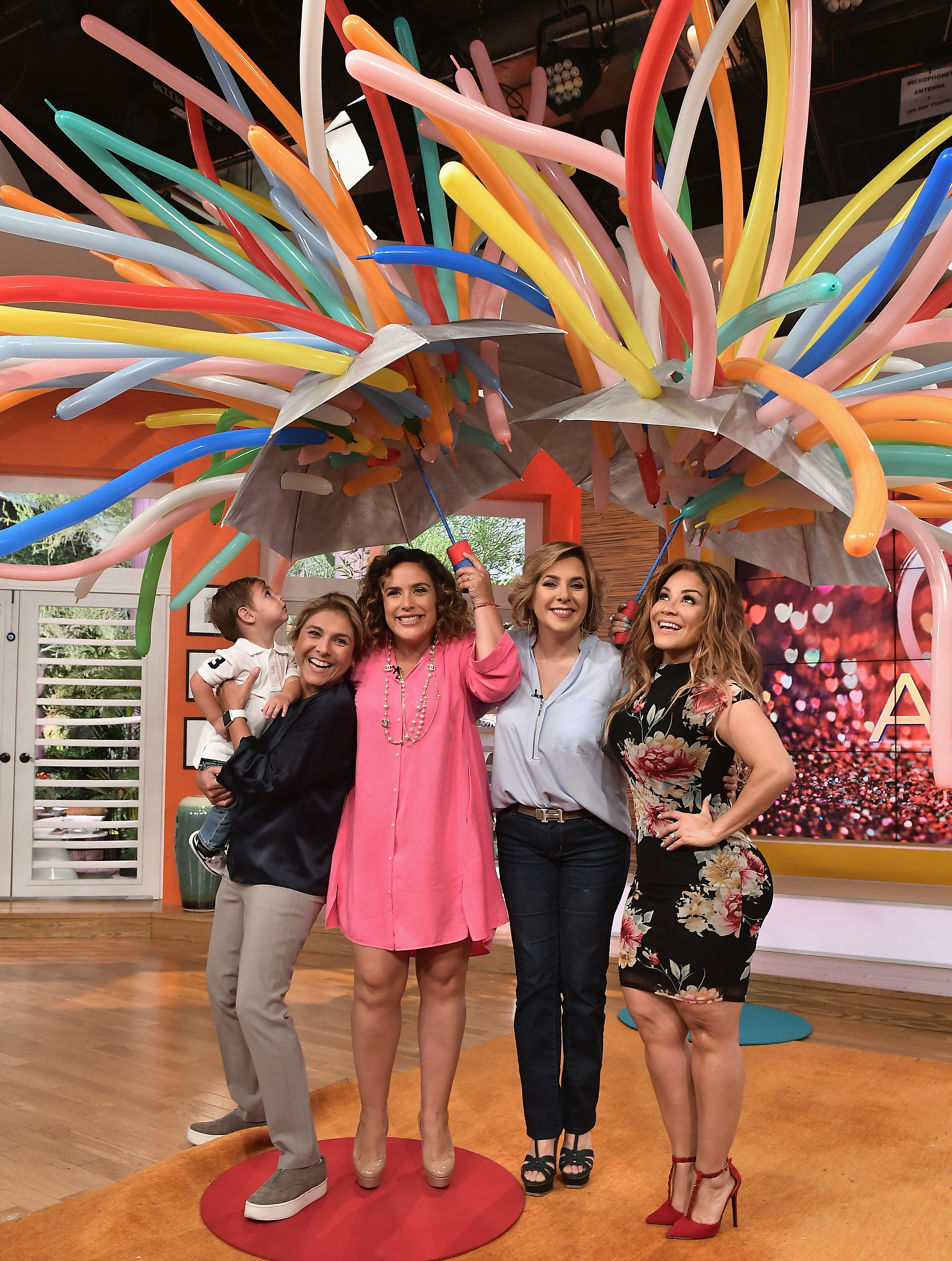 """Un Nuevo Dia"" Celebrates Angelica Vale's Son's Birthday"