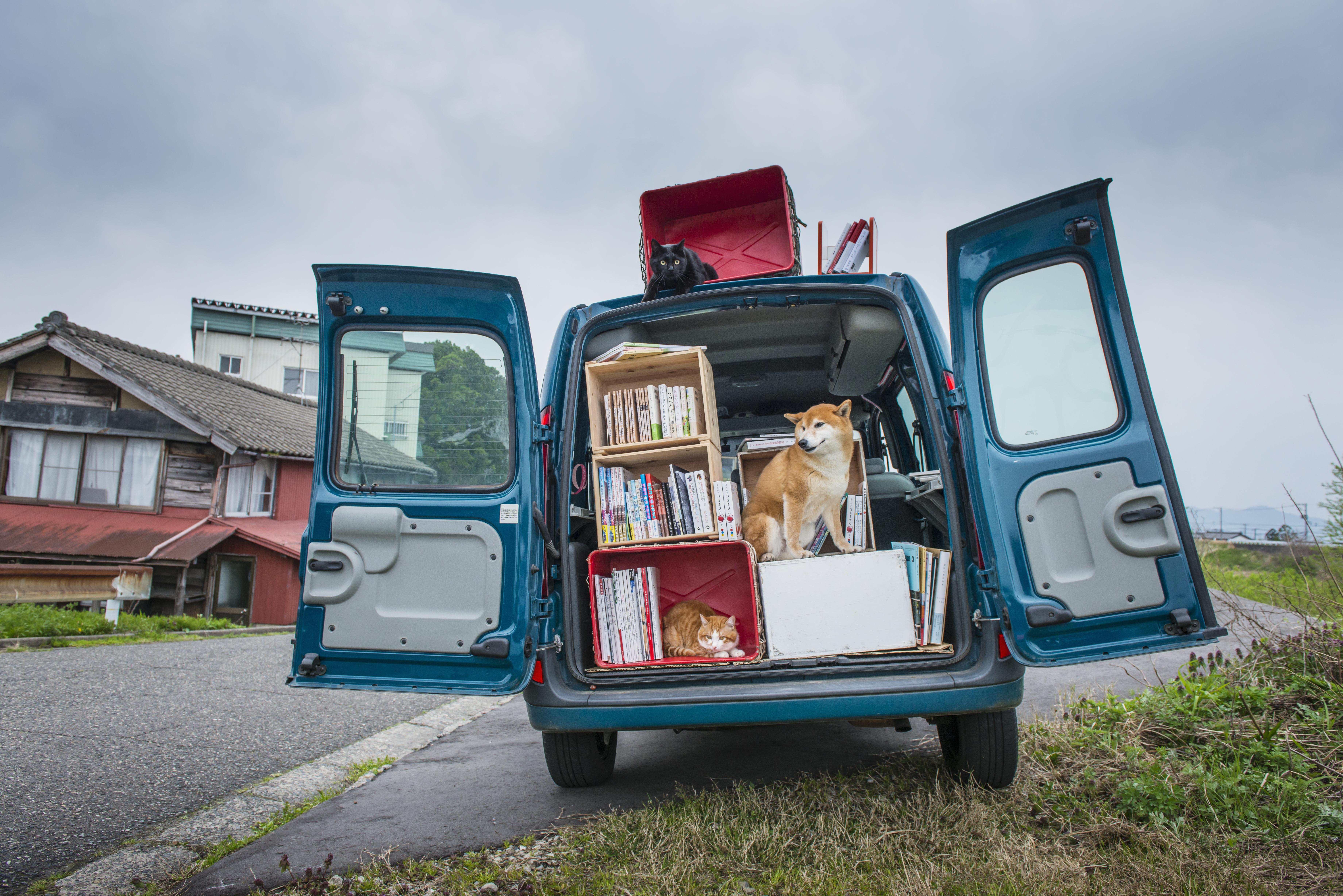 A moving Bookstore