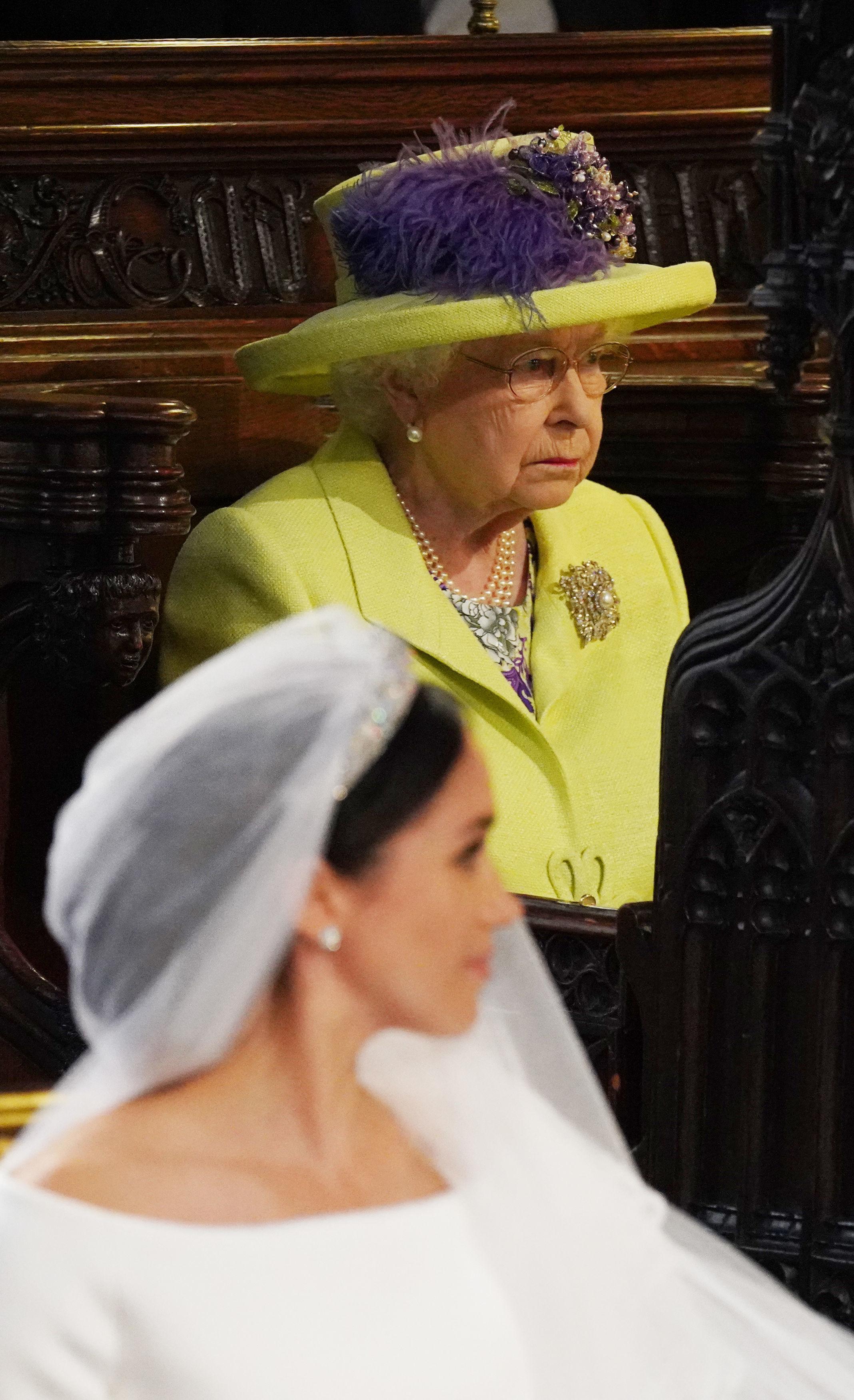Reina Isabel II, Meghan Markle