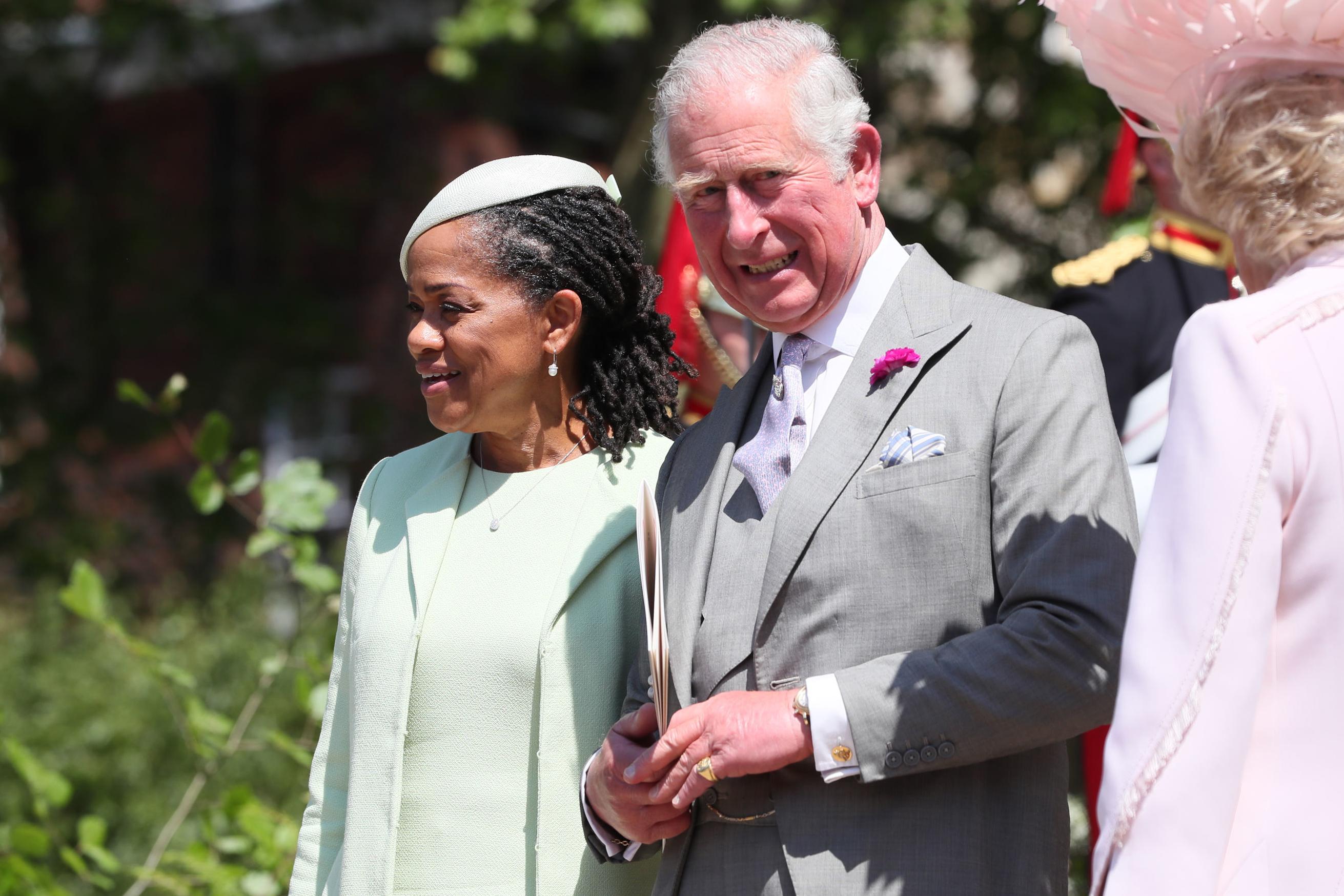 Doria Ragland, Príncipe Carlos