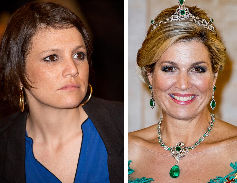 Inés Zorreguieta y la reina Máxima de Holanda