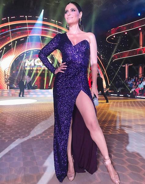 Chiquinquira Delgado, looks, mira quien baila