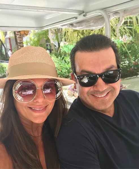Bárbara Bermudo y Mario Andrés Moreno vacaciones México, aniversario