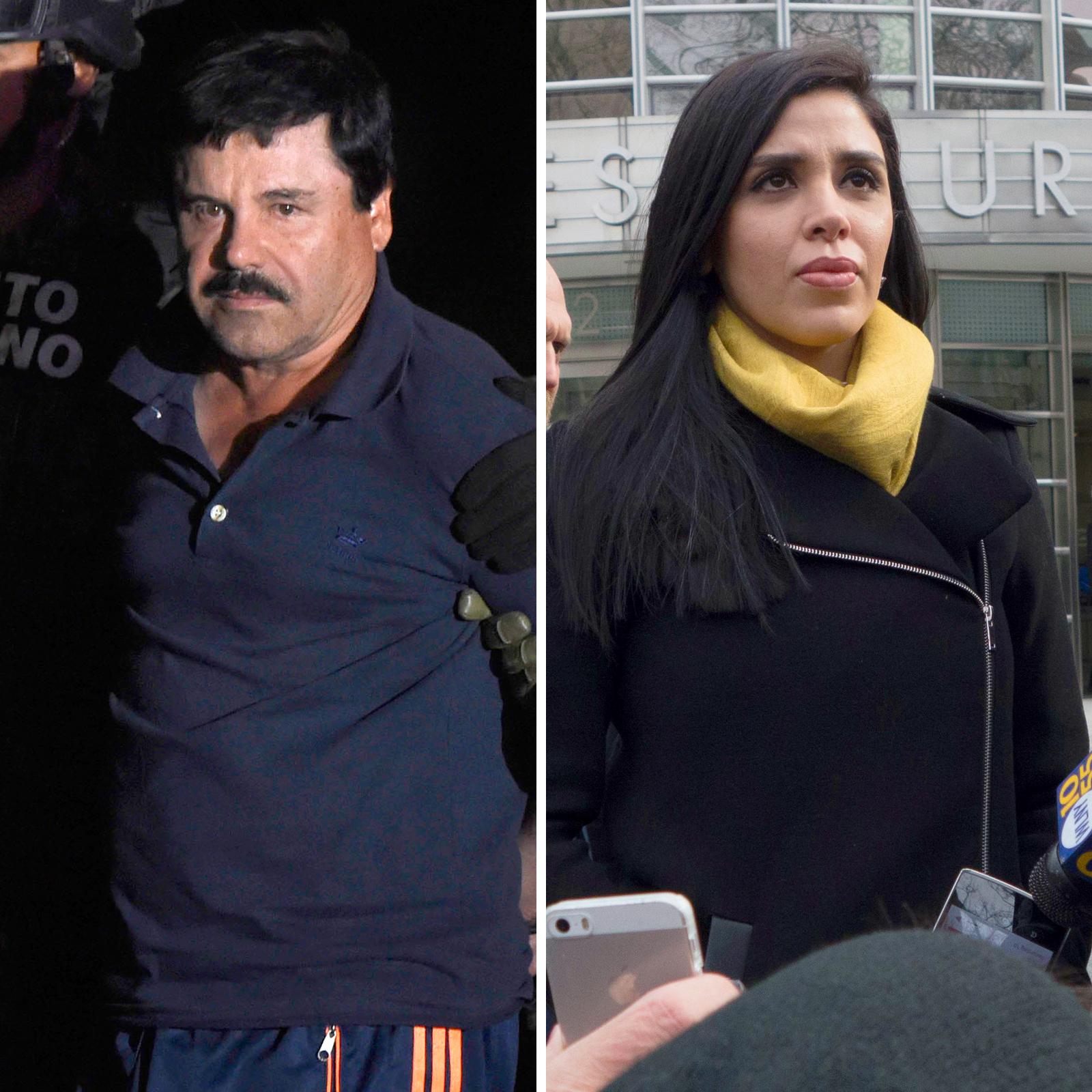 El Chapo y Emma Coronel Aispuro