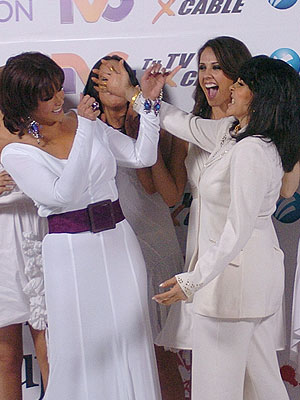 Lucía Méndez y Verónica Castro