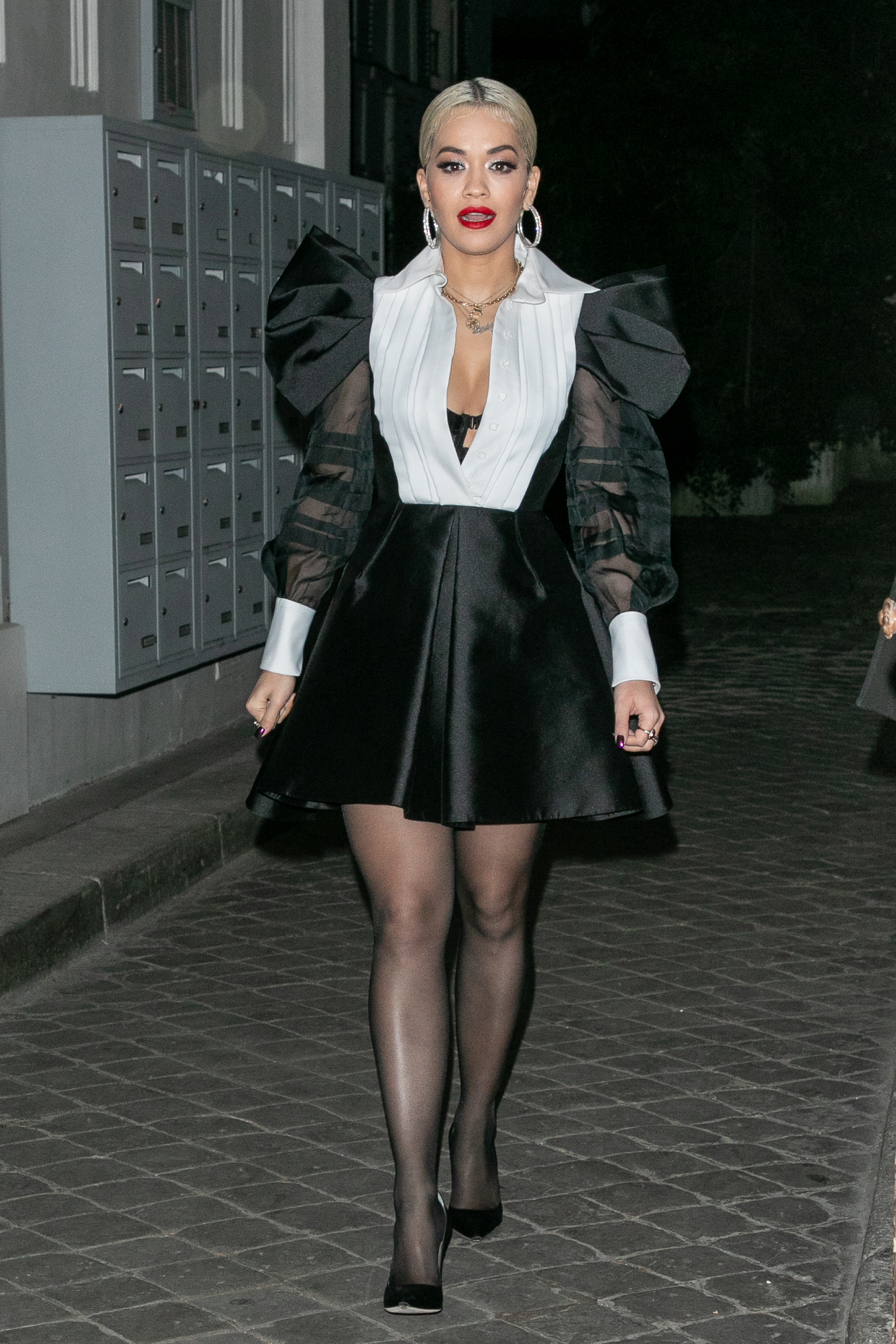 famosa, estilo, ootd, look, vestido, look del día