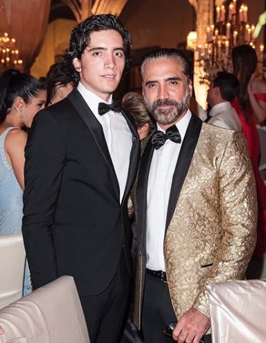 Alejandro Fernández y Alejandro Fernández junior