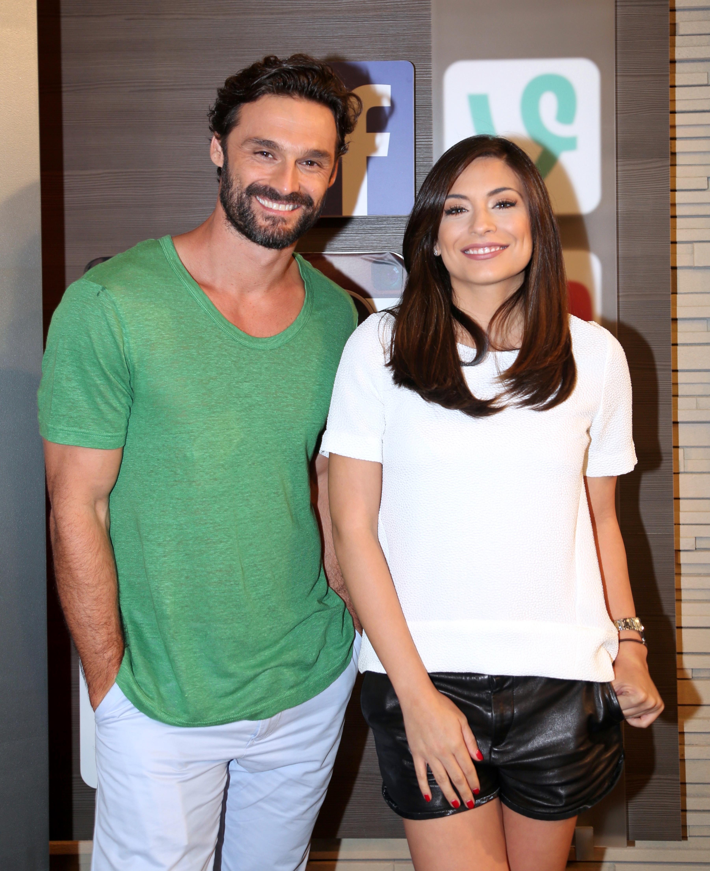 Ana Brenda e Iván Sánchez