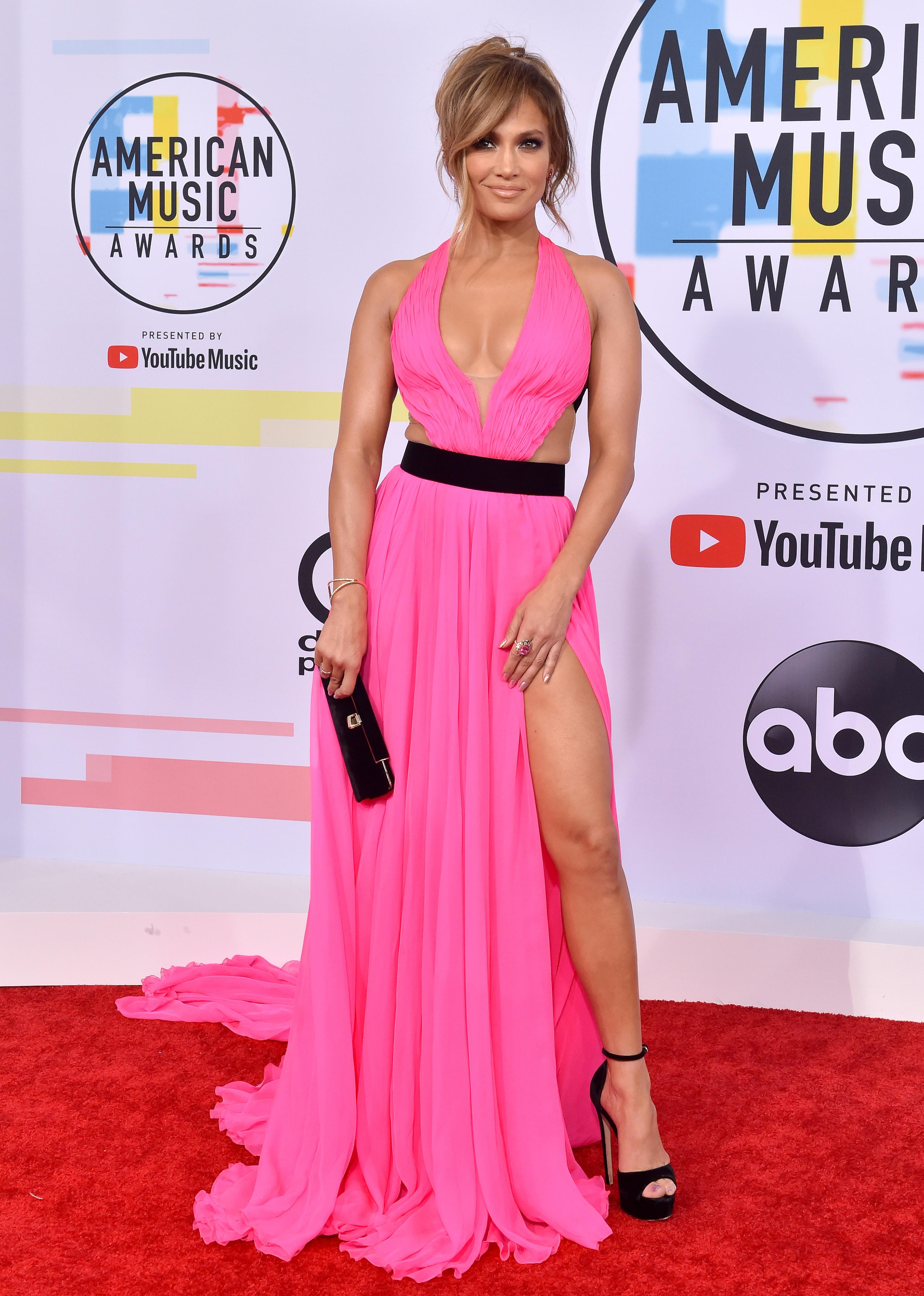 Jennifer Lopez, 2018 American Music Awards