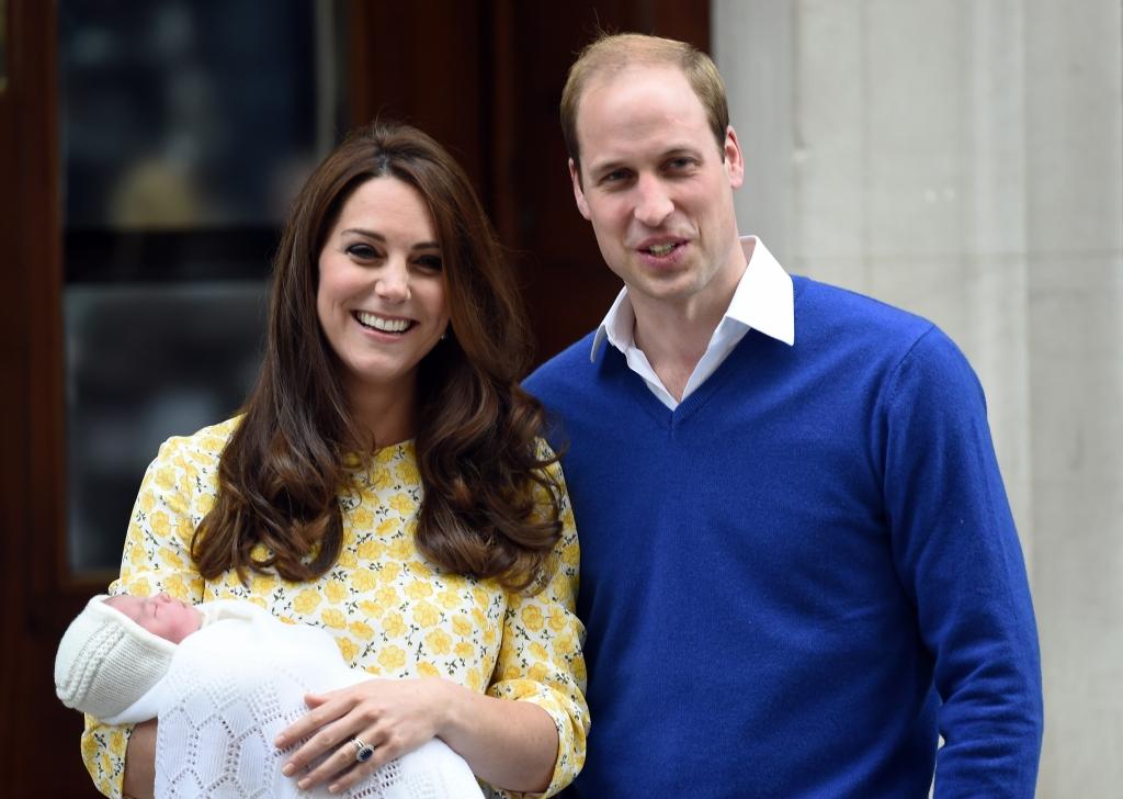 Principe William, Princesa Kate, Princesa Charlotte