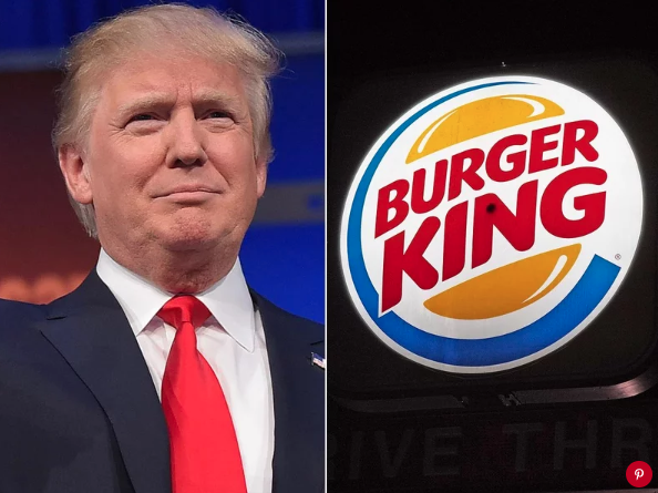 President Donald Trump and Burger King