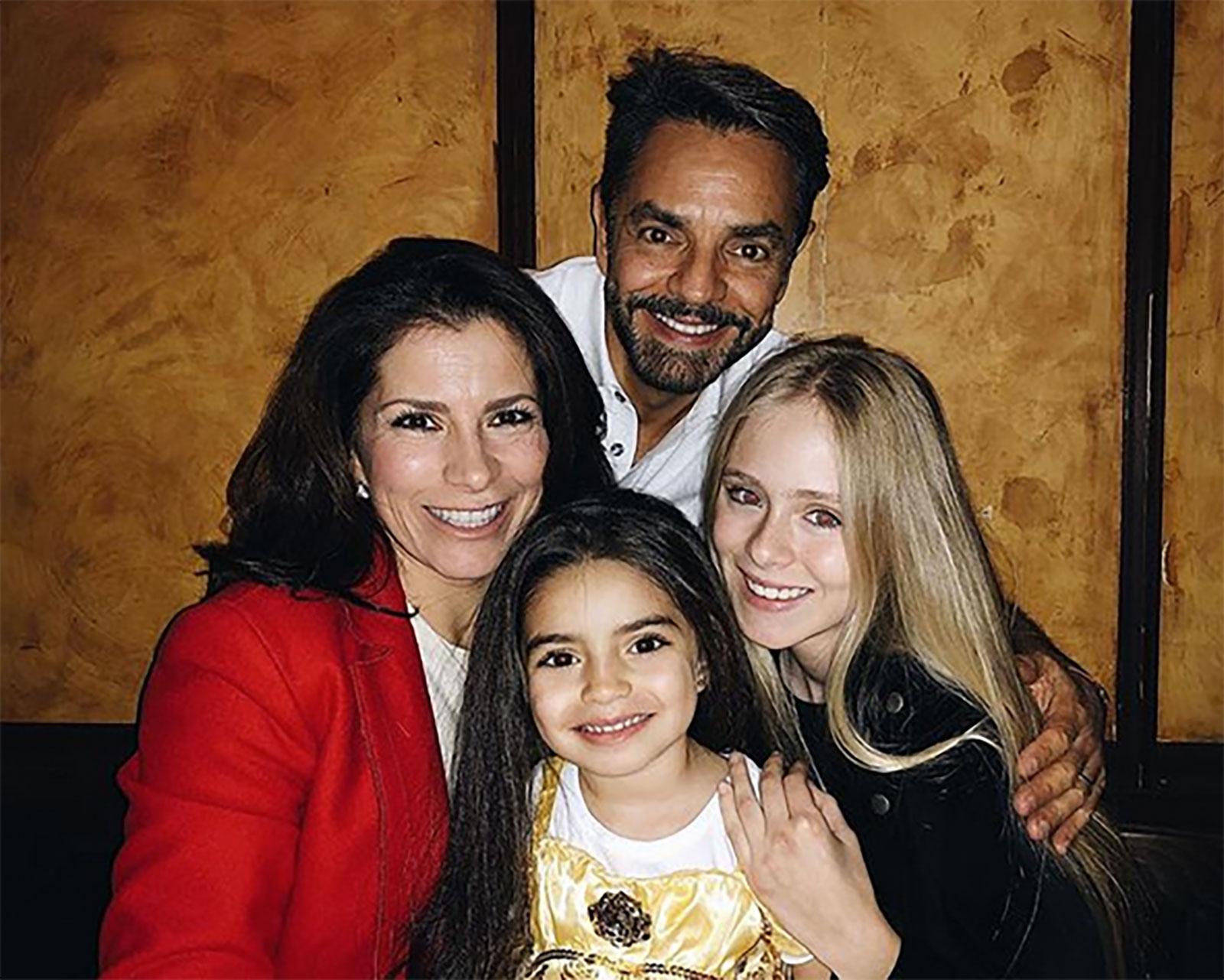 Eugenio Derbez, Loreto Peralta, Alessandra Rosaldo, Aitana Derbez