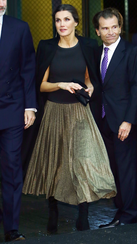 Spanish Royals Attend 20th Anniversary of 'La Razon' Newspaper