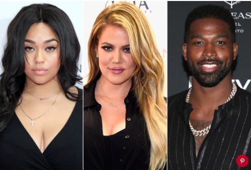 Jordyn Woods, Khloé Kardashian and Tristan Thompson. Photo: Mike Marsland/WireImage; Frazer Harrison/Getty; Phillip Faraone/WireImage