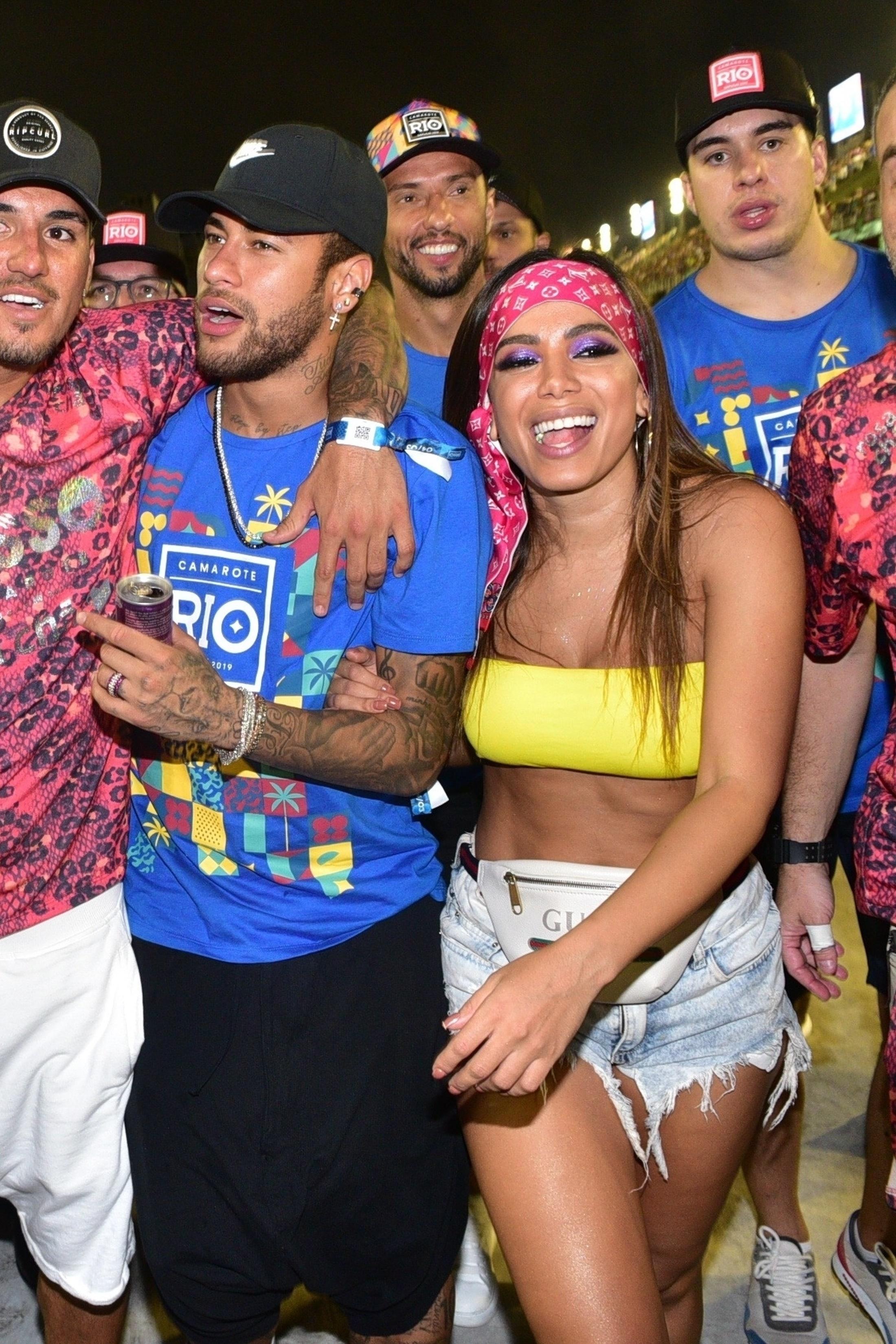 Anitta, Neymar