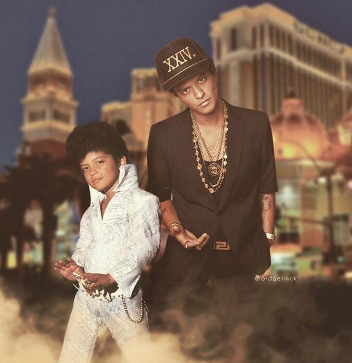 Bruno Mars y version joven