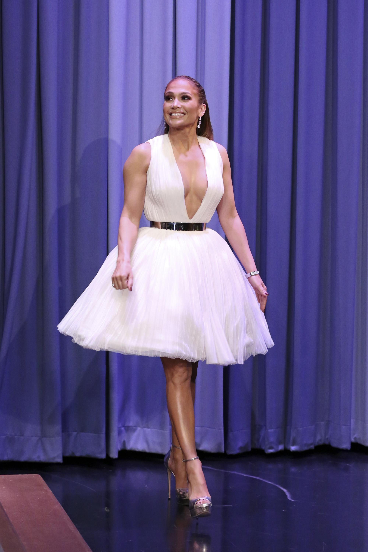 JLo, vestido, boda, famosa, estilo, Jennifer López