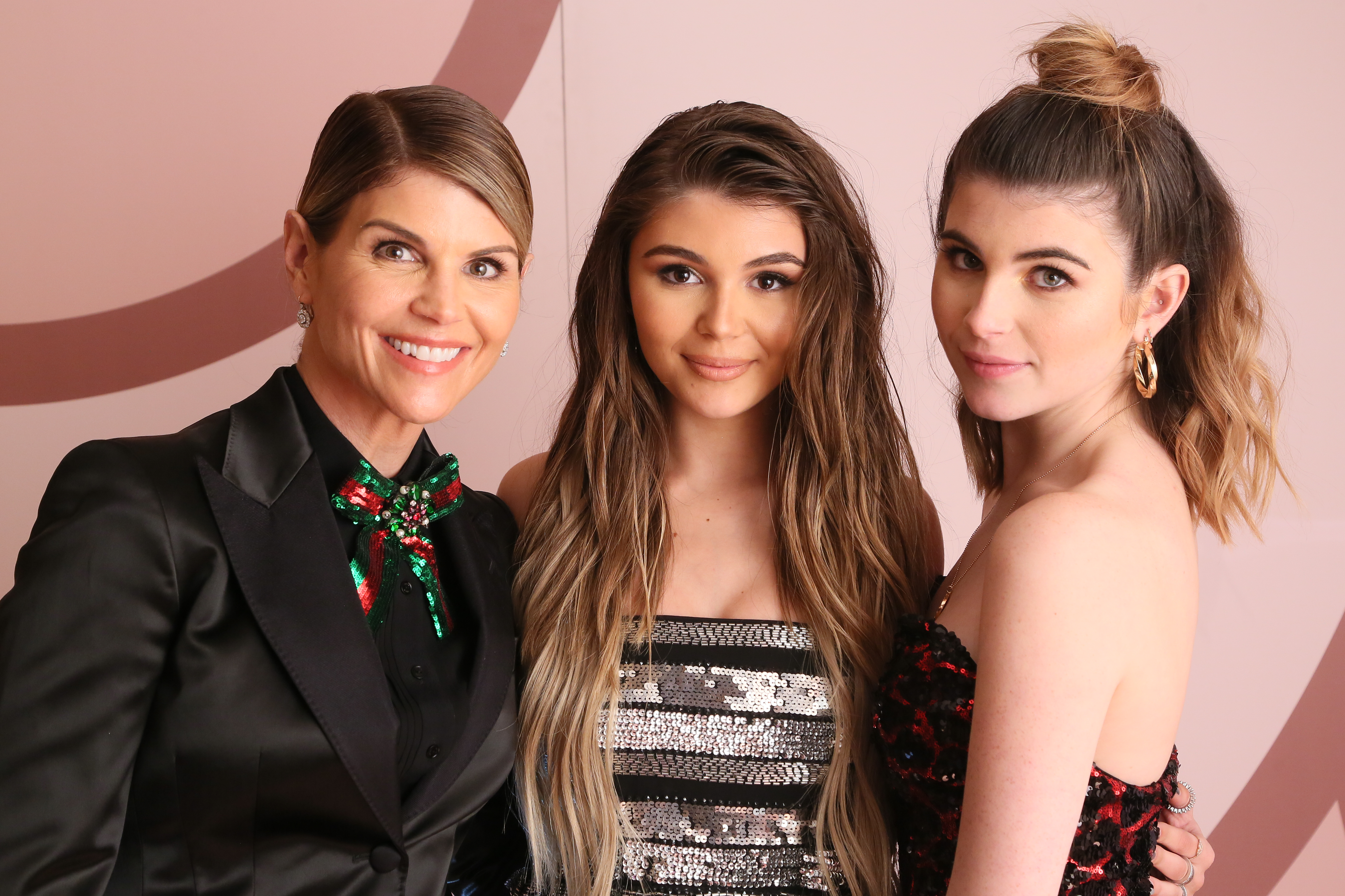 Lori Loughlin, Olivia Jade Giannulli and Isabella Rose Giannulli
