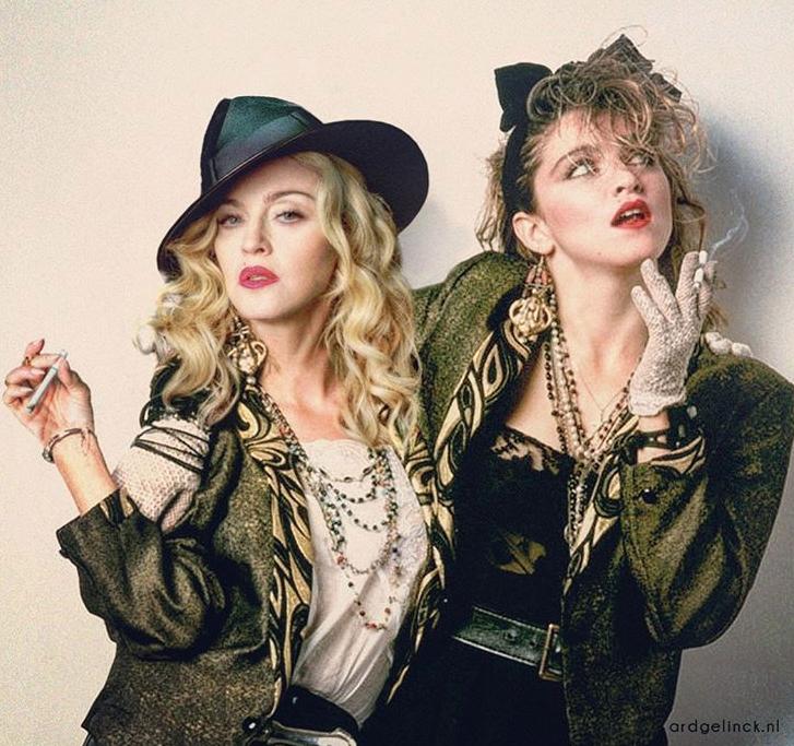 Madonna y version joven