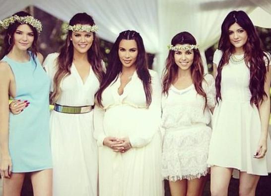 Kim Kardashian baby shower5