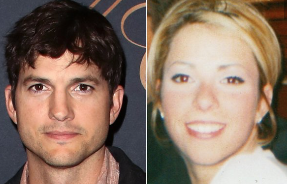 Ashton Kutcher, Ashley Ellerin PHOTO: DAVID LIVINGSTON/GETTY