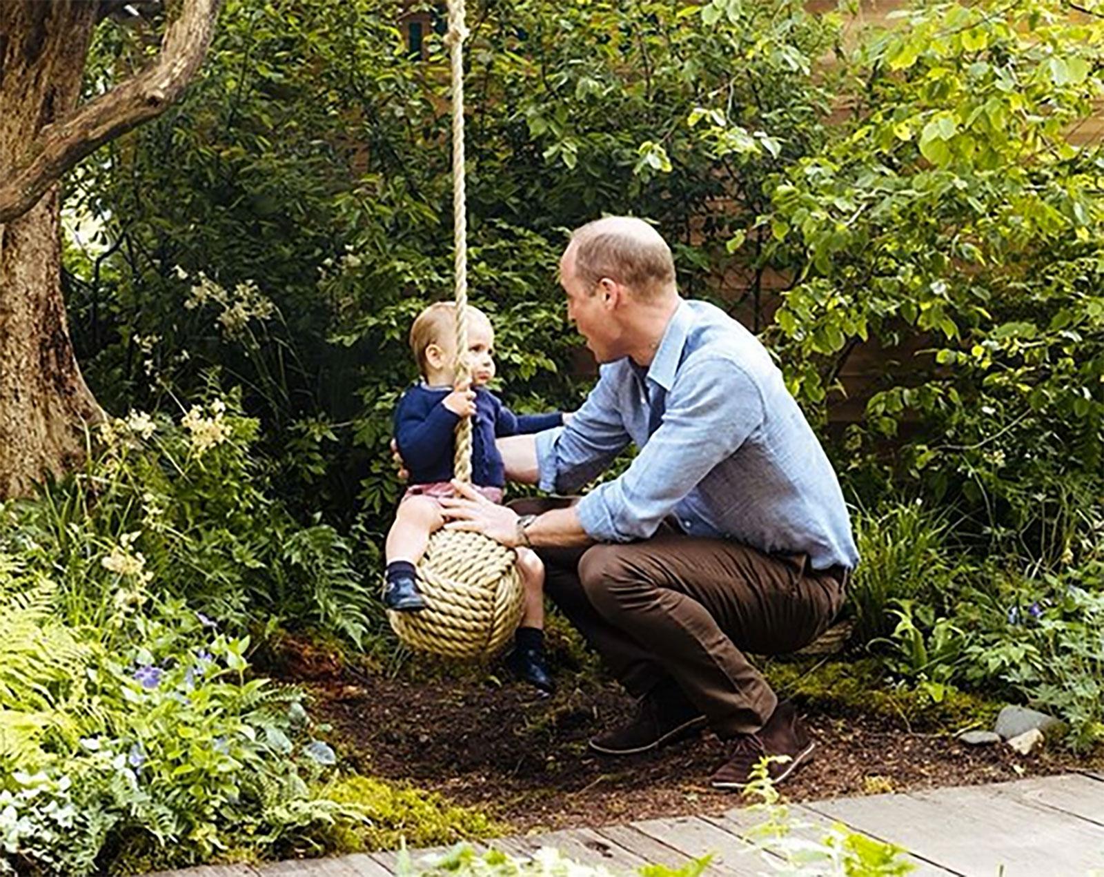 Príncipe William, príncipe Louis
