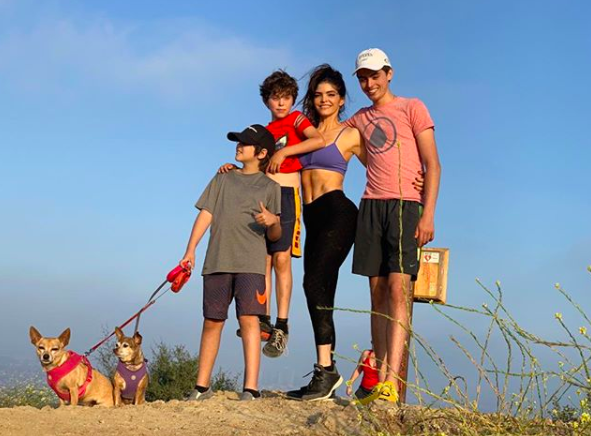 Ana Bárbara y sus hijos