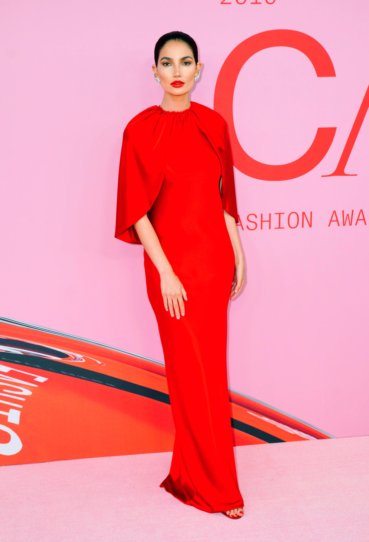 CFDA, alfombra roja, famosas, estilo, vestido