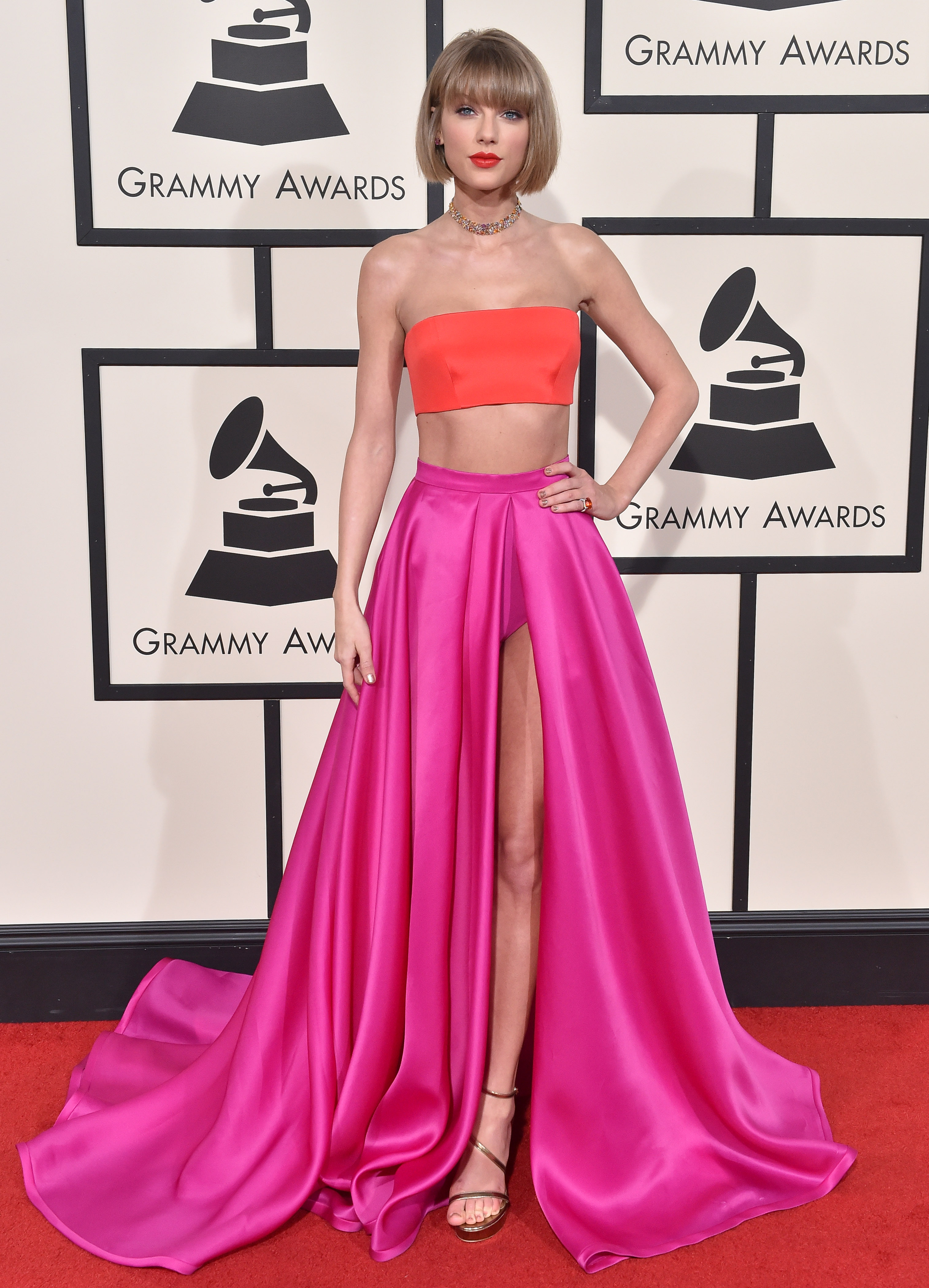 Grammy, vestidos, famosa,