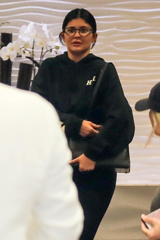 Kylie Jenner shopping en Beverly Hills.