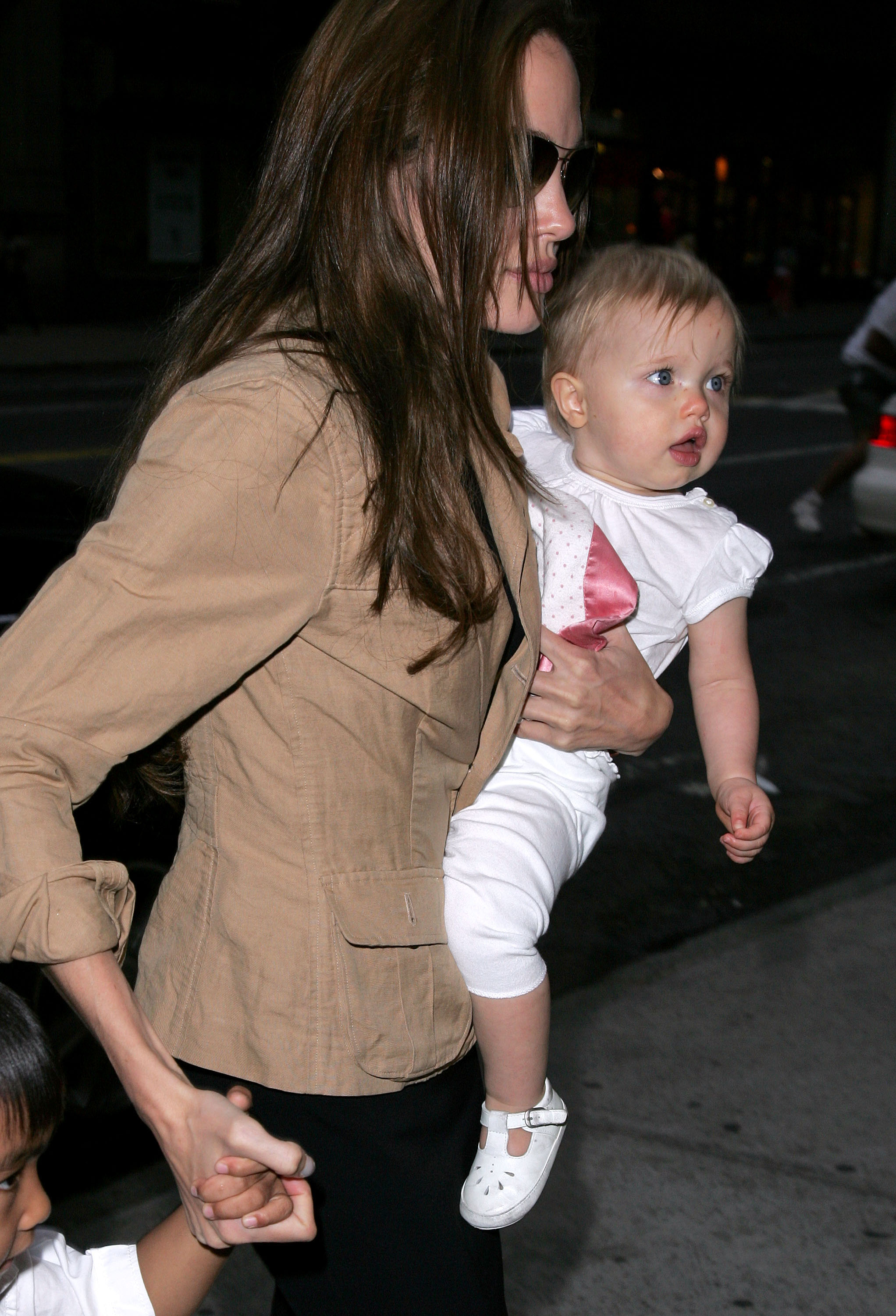 Angelina Jolie, Maddox and Shiloh Sighting in New York City - June 16, 2007