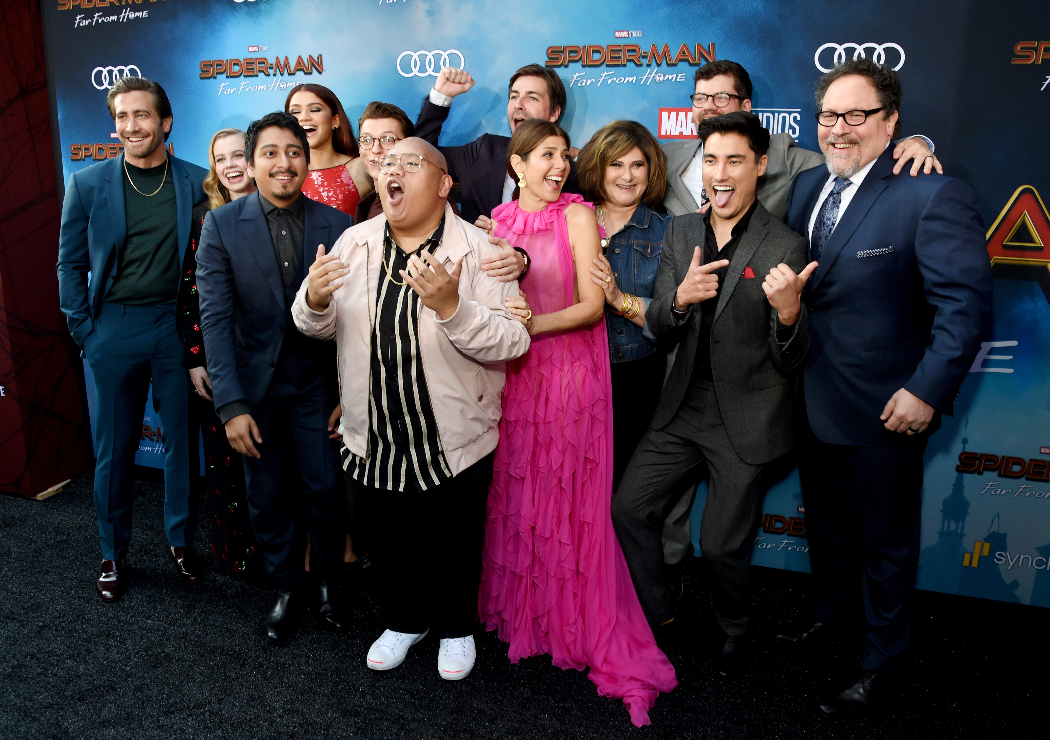 Zendaya premiere de Spider-Man: Far From Home