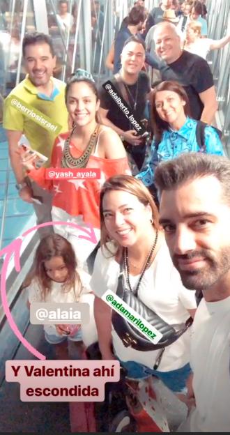 Toni Cosa y Familia