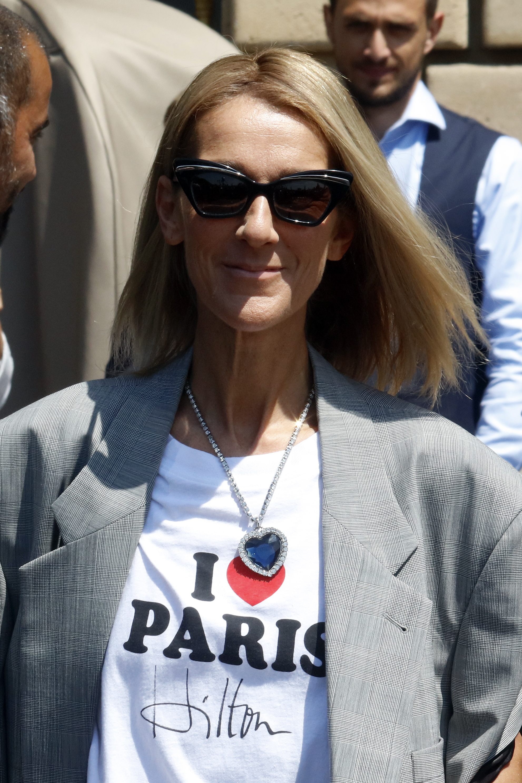 Celine Dion, looks, semana de la moda Paris, paris fashion week,
