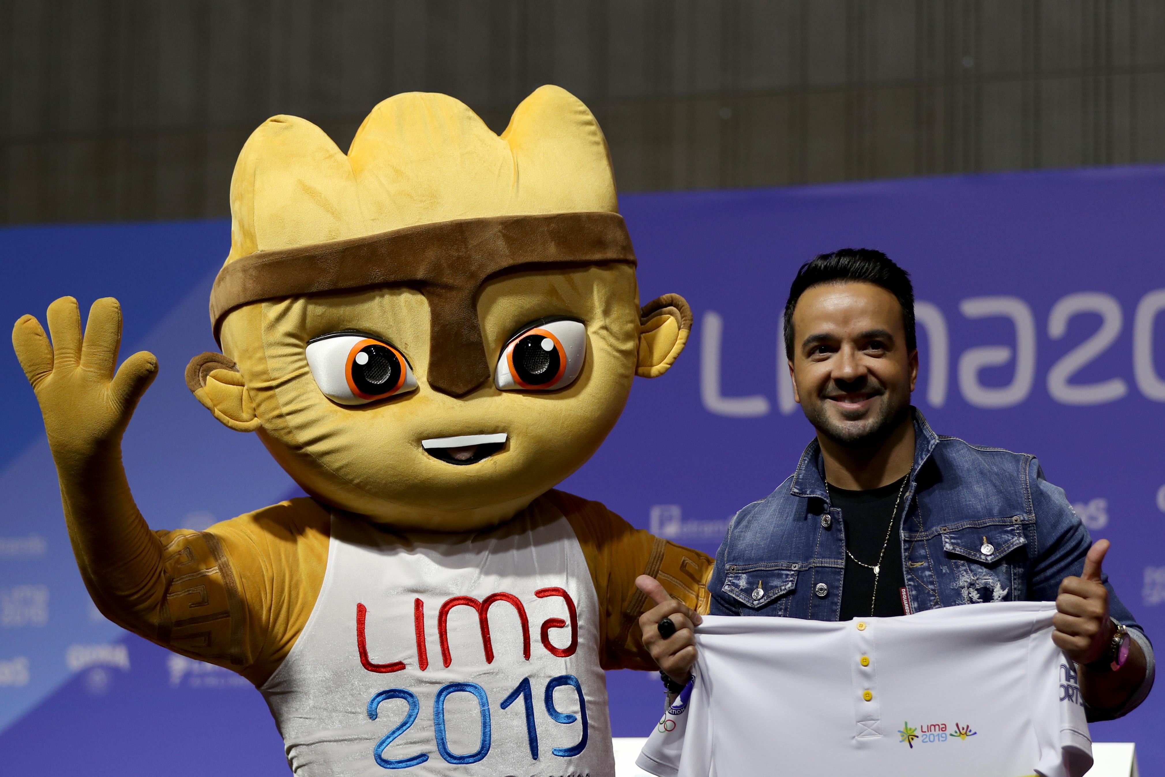 Luis Fonsi Juegos Panamericanos de Lima 2019