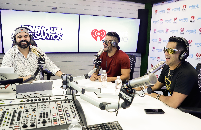 R.K.M & Ken-Y en The Enrique Santos Show